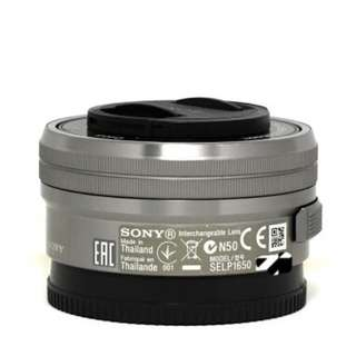 Sony E mouth 16-50 mm lens