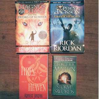 Fantasy novel books