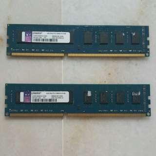 Kingston RAM 8GB (2x4GB)