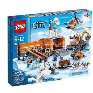 Lego 60036 - Arctic Base Camp