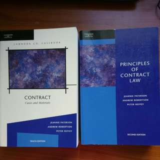Contract law textbooks