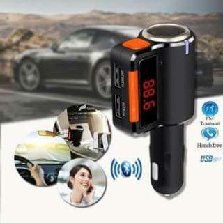 BC09 Wireless Bluetooth Car Charger Hands-free MP3 Player FM Transmitter Dual USB