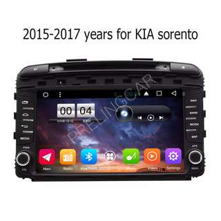 "Android 10.2"" display, car navigation, stereo, multimedia video, radio player for KIA SORENTO 2013-2017."