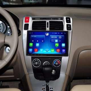 "Android 10.2"" display, car navigation, stereo, multimedia video, radio player for HYUNDAI TUCSON 2006-2014."