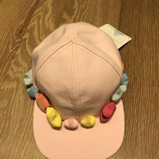 意大利牌子全新cap帽,獨一無二,粉紅控