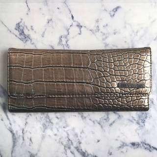 SALE! Kenneth Cole Reaction Trifold Snakeskin Wallet