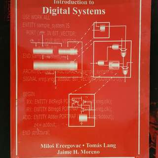 ECE/IT/CoE/ComSci : Introduction to Digital Systems