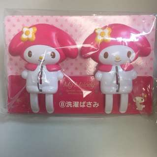 Sanrio My Melody 衣夾大號