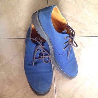 Ankle Boots Blue *reprice*