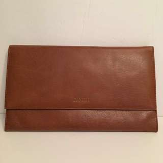 Authentic DANIER large passport folder envelope wallet