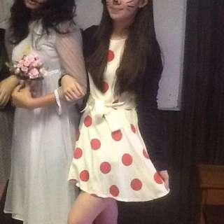GAUDI Polkadot Dress HELLOWEEN