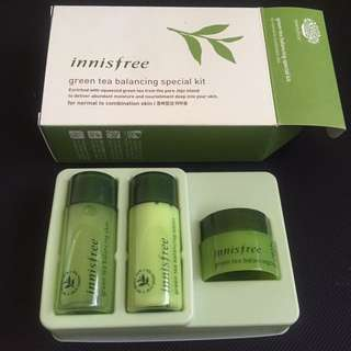 BN Innisfree Green Tea Balancing Special Kit
