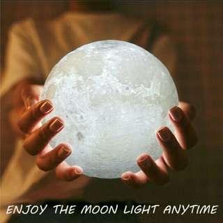 3D Moon Lamp USB LED