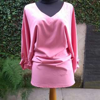 Mini Dress dusty pink cantik