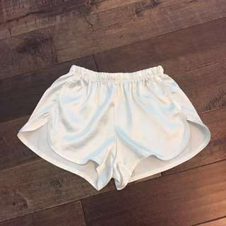 Brandy Melville silk shorts
