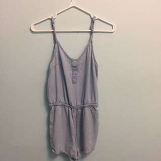 Garage denim romper