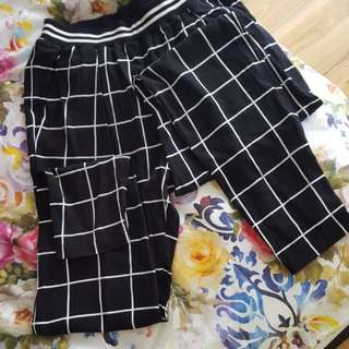 NEW sportsgirl trousers black and white pants
