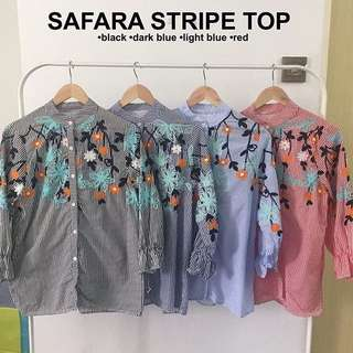 SAFARA STRIPE TOP