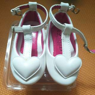 White Heart Shoes