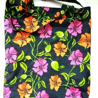 [NEW] [HANDMADE] Hibiscus Tote Bag