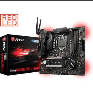MSI Z370M Gaming Pro AC Build With Wifi