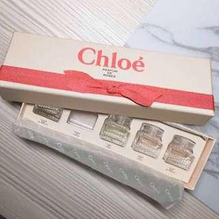 Chloe 香水禮盒 少一瓶!