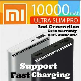 *NEW  Xiaomi 10000mah  Gen 2 Fast Charging PowerBank
