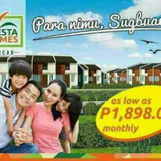 House and lot in CARCAR CEBU AS LOW AS₱1,898 PER MONTH