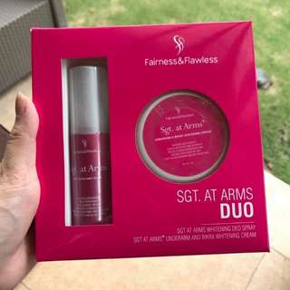 Sgt. At Arms Underarm Whitening Duo