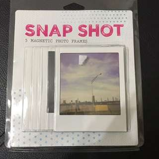 Snap shot magnetic photo Frame