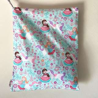 JUMBO size. Snap Wetbag Made with Fabric from Japan ** Quality Durable Trusted Zipper brand: YKK *FOC Normal Post.