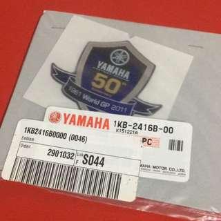 ORIGINAL YAMAHA 50TH ANNIVERSARY DECAL (READY STOCK)