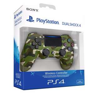 BRAND NEW IN BOX Sony Camo Green Camouflage Limited Edition Authentic PlayStation 4 PS4 Wireless Controller Play Station For Console