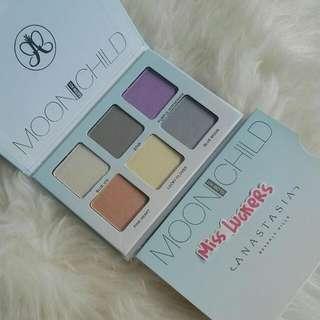 Anastasia Beverly Hills Moon Child Glow Kit Palette Highlighter Shimmer