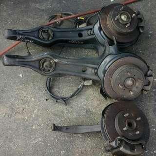 EG disc complete  brake Honda civic4 unit