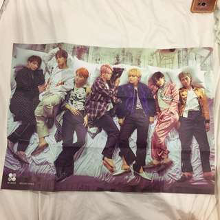 [WTS] BTS OFFICIAL WINGS POSTER