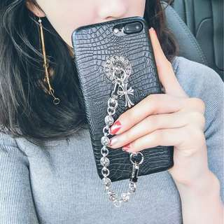 Chrome Hearts iPhone 7/7plus Case電話殻