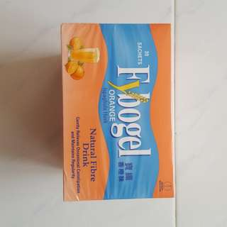 Fybogel Orange Ispaghula Husk Fiber Drink