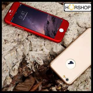 iPhone 5 5s Fullcover Full Cover Case 360 Tempered Glass