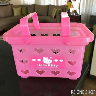 HELLO KITTY HEART BASKET