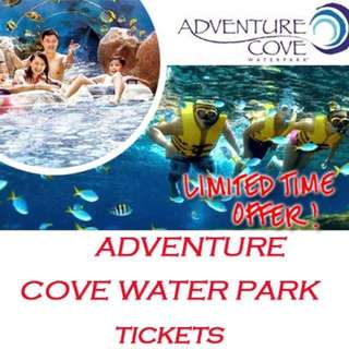 Sentosa Adventure Cove Waterpark 4 Tickets
