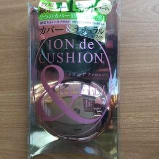 Flowfushi Ion De Cushion 90% Shade 02 Beige with Refill