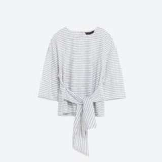 Zara Authentic Striped Blouse