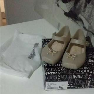 Authentic Mini Melissa Shoes Size 9