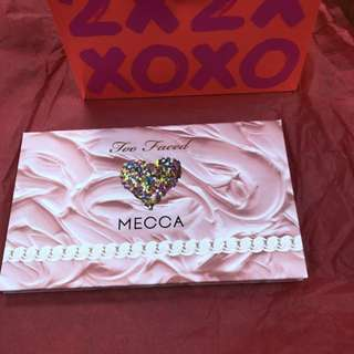 Mecca 20 x Too faced eyeshadow palette