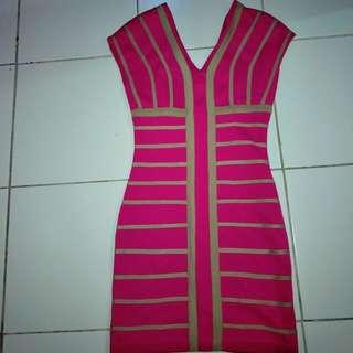 Dress noticing fuchsia