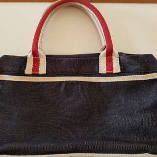 Hang Ten blue denim handbag