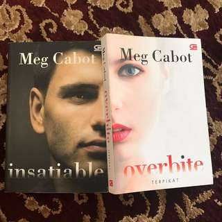 Insatiable & Overbite by Meg Cabot (reprice)