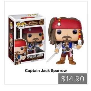 Funko Pop POTC Captain Jack Sparrow