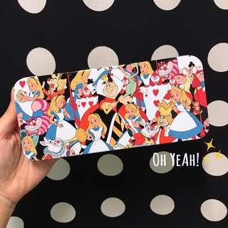 :::OH YEAH!:::日本🇯🇵卡通鐵製鉛筆盒 鐵盒  愛麗絲夢遊仙境 迪士尼 Disney 公主系列 生日禮物